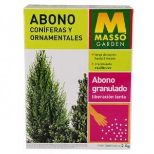 Abono coniferas y ornamentales Masso