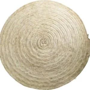 Alfombra redonda palma