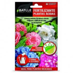 Fertilizantes plantas ácidas Batlle