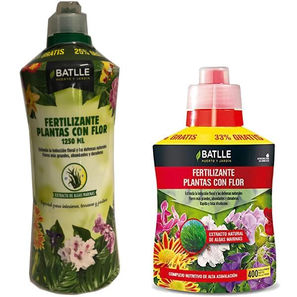 Fertilizantes plantas con flor Batlle