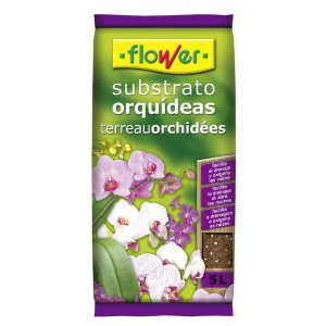 Flower sustratos orquideas