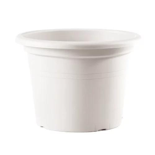 Maceta cilindro basic color blanco