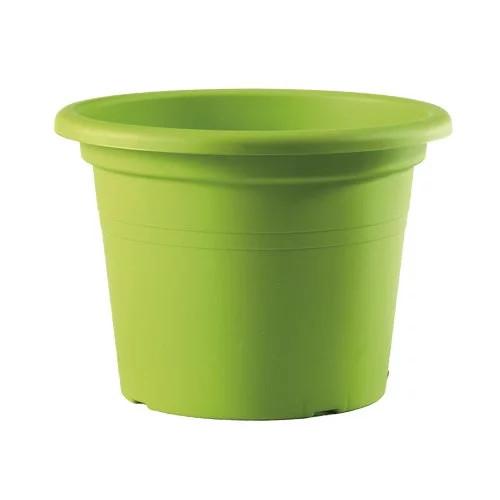 Maceta cilindro basic color verde