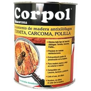 CORPOL-ANTIXILOFAGOS PARA MADERA LIQUIDO 750 ML.