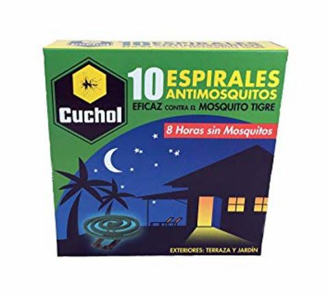 ESPIRAL ANTIMOSQUITOS CUCHOL