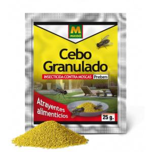 CEBO GRANULADO ANTIMOSCAS MASSO 25 g