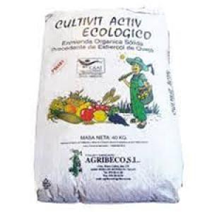 ABONO CULTIVIT ECO AGRIORGAN  FE   30 KG.