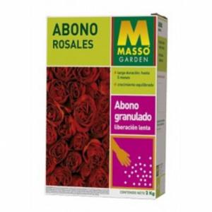 ABONO ROSALES Y ARBUSTOS FLOR  MASSO   2 KG.
