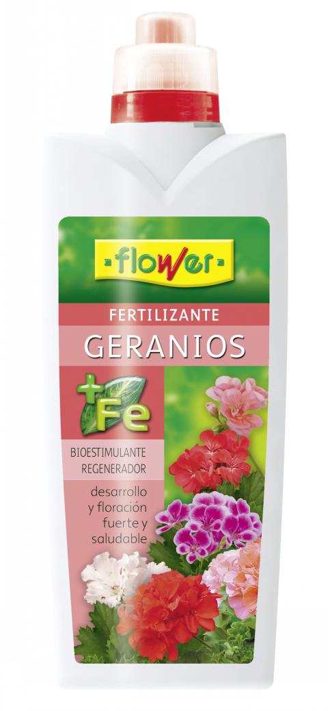 ABONO LIQUIDO GERANIOS FLOWER   1 LT.