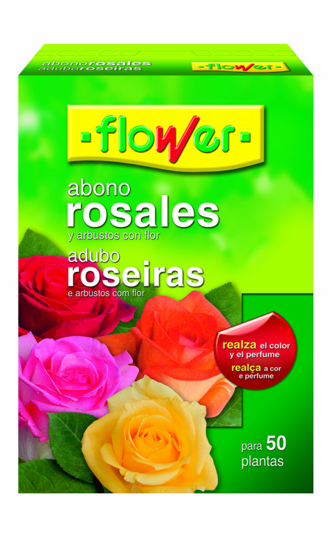 ABONO ROSALES FLOWER   1,5 KG.