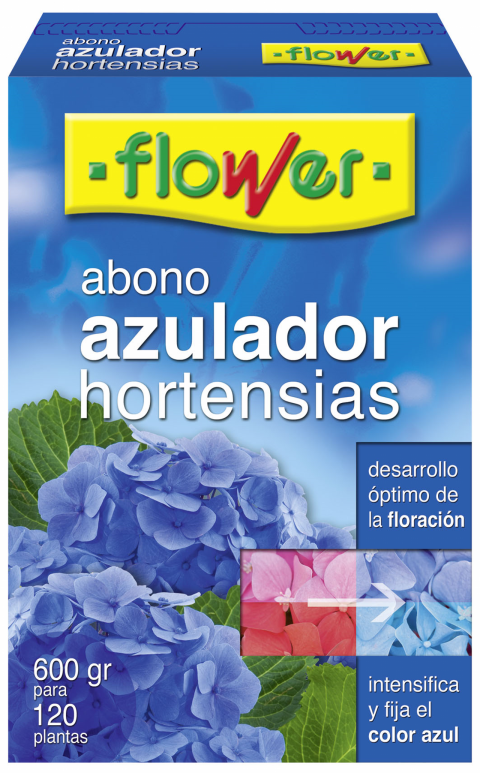 ABONO AZULEADOR HORTENSIAS   150 GR.