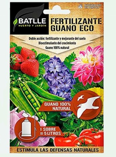 FERTILIZANTE GUANO ECO   30 GR.