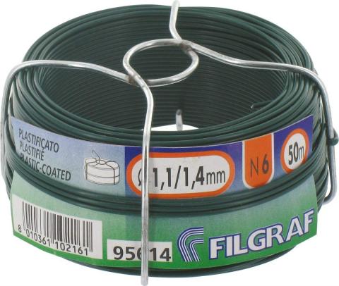 ALAMBRE PLASTIFICADO FILGRAF 1,40 MM-240 GR  50 MTS