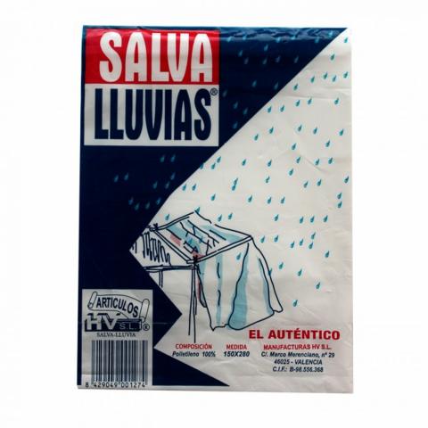 PLASTICO SALVA LLUVIAS