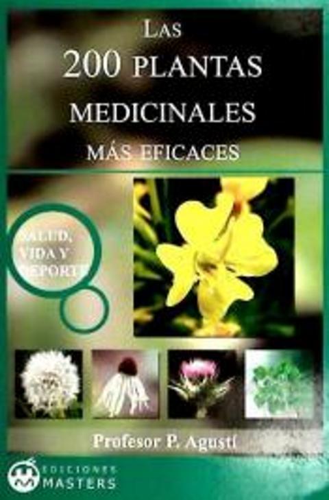LIBRO 200 PLANTAS MEDICINALES EFICACES