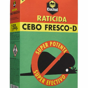RATICIDA CEBO FRESCO CUCHOL   150 GR.