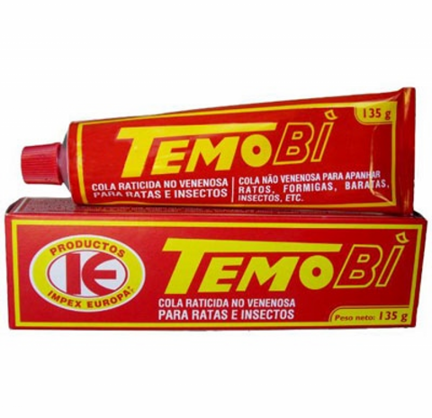 TEMOBI COLA RATICIDA IBYS   135 GR.