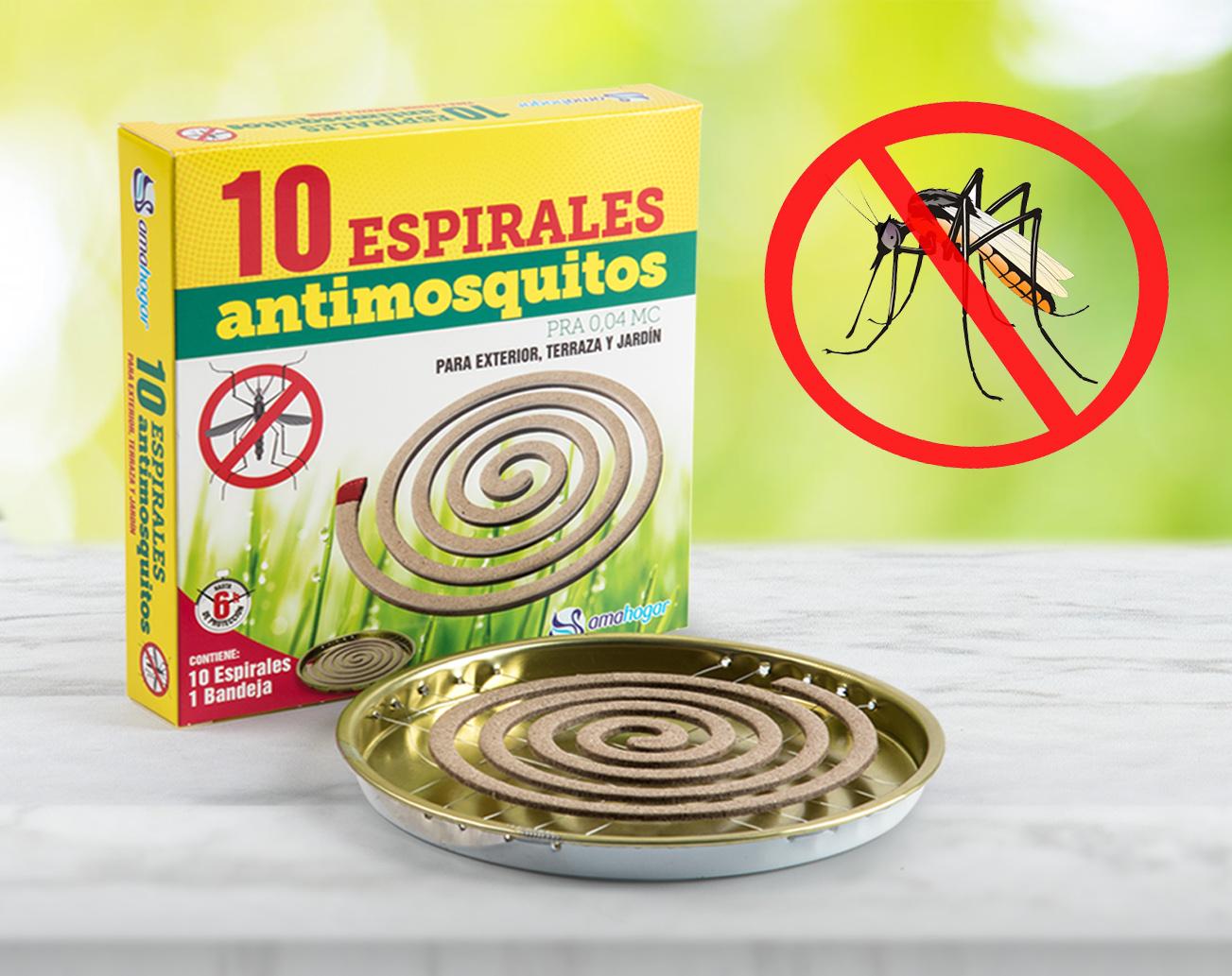 Espirales antimosquitos Amahogar