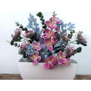 Flores artificiales jardinera vanda
