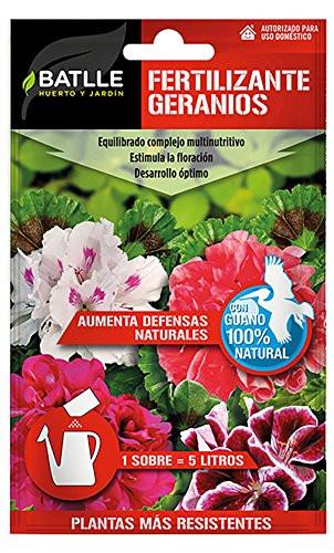 Fertilizante geranios Batlle 20 gr