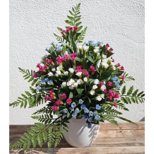flores artificiales RAMO NOMEOLVIDES