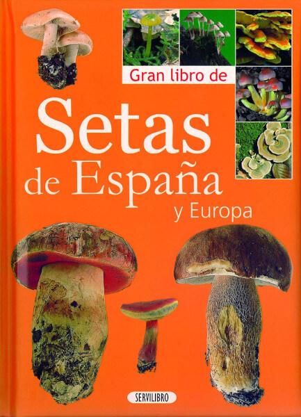 Libro setas y hongos servilibro