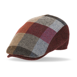 Gorra de lana Solid 40083 color burdeos