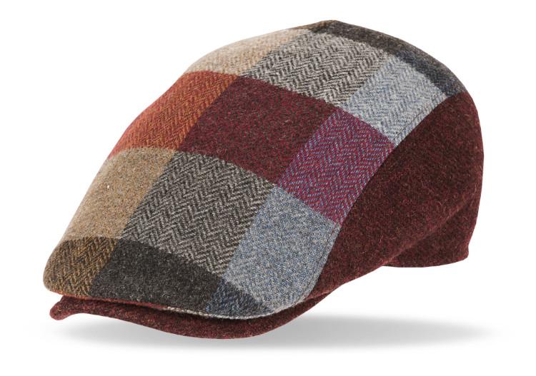 Gorra de lana Solid 40083 color burdeos