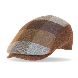 gorra de lana solid 40083 marron