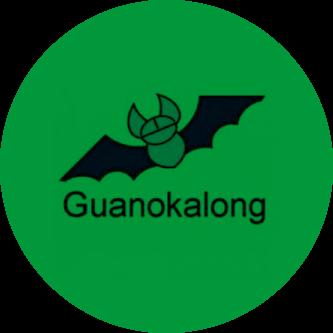 Kalong guano de murciélago